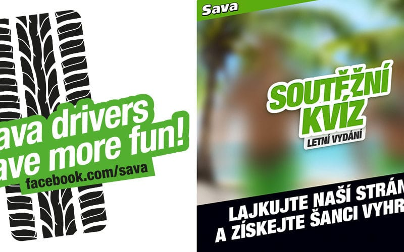 Sava drivers have more fun startuje na facebooku!